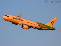 A4O-OVI Airbus A320 Neo Salam Air (@Eurospot) Tags: toulouse blagnac a4oovi airbus a320 neo 9197 salamair