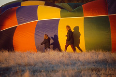 048 Hot Air balloons (Awesome Image Maker NZ) Tags: canonslidebestof event flickr hotairballoon marlborough slides sport frost sunrise