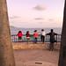 Parent and Kids at - Laguna Beach, California