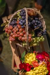 Fruit orchard harvest. Grapes (kinmegami) Tags: scale miniature polymerclay 16 diorama dollhouseminiature