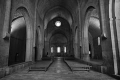 Abbaye du Thoronet (RIch-ART In PIXELS) Tags: abbayeduthoronet france provencealpescôtedazur lethoronet church arch alpesmaritimes abbeye abbey monochrome blackandwhite fujifilmxt20 xt20