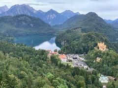 Hohenschwangau Castle & Alpsee (kepibear) Tags: europe castle marienbrücke alpsee lake marienbridge 2019 schwangau hohenschwangau neuschwanstein germany iphonexsbackdualcamera6mmf24