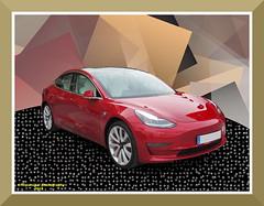 TESLA MODEL 3 (fernanchel) Tags: car coche vehiculo nuevo new electrico tesla teslamodel3 teslam3 gimp torrent spain vehicle