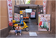 roma 25 (beauty of all things) Tags: italien rom roma urbanes cities spagna sp people menschen posters plakate