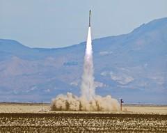 Something BIG at BALLS28  🚀 (jurvetson) Tags: balls balls28 rocket launch event black rock desert nv mr fish business
