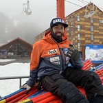 BC Ski Team Coach Morgan Pridy at hotel in Chile