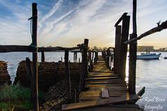 embarcadero de bacuta (raulboza1) Tags: huelva mar barco muelle nikon nikond7200 nikonistas sigma sol amaneceres ria skiline cielo fotografía fotogrados