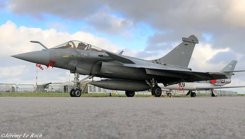 RAFALE M (MARINE NATIONALE) (FRENCH NAVY) N°40 A L'AEROPORT MORLAIX PLOUJEAN AU MEETING AERIEN DES RAFALE ET DES AILES 2019