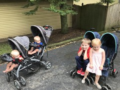"The Kids in Strollers Heading to Last Fling • <a style=""font-size:0.8em;"" href=""http://www.flickr.com/photos/109120354@N07/48823430656/"" target=""_blank"">View on Flickr</a>"