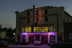 A little bit of Vassar Michigan (TAC.Photography) Tags: vassar nightlights nightscene movietheater
