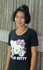 hello kitty girl (the foreign photographer - ฝรั่งถ่) Tags: hello kitty girl khlong thanon portraits bangkhen bangkok thailand nikon d3200