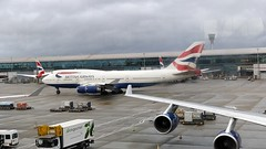 BAW117 (Al Henderson) Tags: london heathrow airport lhr egll aviation airliner planes britishairways ba baw speedbird boeing 747 747400 jumbo gcivh