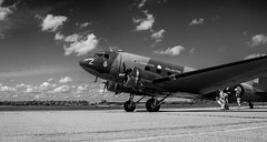 DC 3 (Koku85 (Thanks for 1 million views)) Tags: aviation dc3 aircraft monochrome blackandwhite airplane transport