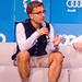 Nicolas Brusson, CEO und Co-Founder von BlaBlaCar, auf der Bits&Pretzels