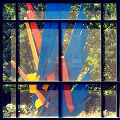 Atlanta window (swampzoid) Tags: olympia sculpture albert paley atlanta art window view through albertpaley promenade midtown glass public artwork architecture fruitloops colorful square crop cropped beyond
