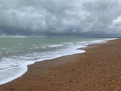 Stormy Shoreham Beach (markshephard800) Tags: nuages storm clouds beach seafront coast coastal channel sea waves stones shorehambeach shorehambysea sussex england
