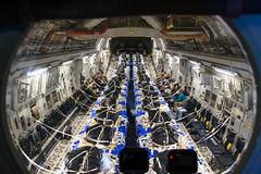 SKYDIVING BARRELS (Kaiserjp) Tags: 1223 100401 uae unitedarabemirates c17 c17a uaeaf airforce military cargo transport cockpit flightdeck inflight aircrew mobilityguardian mg19 avatar10