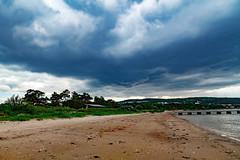 20190608 - 172057 - IMG_6808 - 7D (Susanne & Henrik Dunér) Tags: sky cielo nebo céu himmel ciel tiānkōng sama cloud nube oblako nuvem wolke nuage yún ghym moln beach spiaggia plyazh playa depraia strand plage hǎitān shatibahr blue