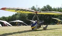 G-CBEB at Sandown (chrysanyo) Tags: sandown microlight uk aircreation