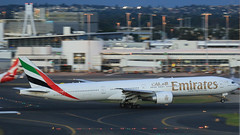 Emirates on the In (3 of 3) (Jungle Jack Movements (ferroequinologist) all righ) Tags: eco vh sydney international airport kingsford smith botany bay 16r mascot queen city view one world fly flown trip passenger wing airborne rapid takeoff land touchdown airplane aeroplane aircraft journey aerial inflight landing plane airliner wind sky turbulence aisle window captain crew terminal gear 飞机飛行機 самолет aereo avion aerobatics fuselage altitude pilot navigator radar turbo emirates boeing 777 a6eco dubai arab