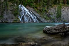Maligne Canyon Waterfall (daviddalesphoto) Tags: malignecanyon waterfall cascade river landscape longexposure jaspernationalpark canadianrockies maligneriver jasper