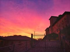The Sunrise Gate #sunrise #piedmont  #biellese #alba  #theskythismorning #dawn #castle #castello #schloss #architecture #Italy (! . Angela Lobefaro . !) Tags: sunrise schloss theskythismorning castle biellese alba castello italy dawn piedmont architecture
