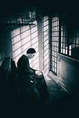 To Pray (Angelo Petrozza) Tags: pray basilica san nicola bari puglia blackandwhite biancoenero bw light luce angelopetrozza pentax 21mmlimited