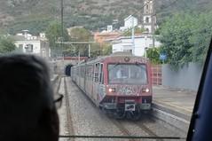 ERT-074-Meta-Italy-23-9-2019 (D1021) Tags: ert074 ert079 emu metergauge meta metastation italy italianrailway d300 nikond300