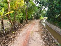 Dirt roads of Isaan 7e (SierraSunrise) Tags: thailand isaan esarn phonphisai nongkhai roads dirt unpaved canal farming irrigation