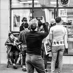 IMG_1170000 (Kathi Huidobro) Tags: bw london monochrome blackwhite candid streetphotography streetportrait bricklane reportage eastlondon londonlife londoners beigeshop
