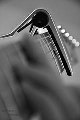 Guitar (islafraserr) Tags: forthvalleycollege guitar blackandwhite aperture electricguitar