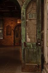 exit (pitysing) Tags: door philadelphia prison easternstatepenitentiary