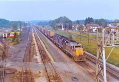 EL 2561                            6-72 (C E Turley) Tags: trains railroads railways erielackawanna el pc gp35