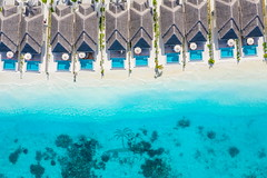 Maldives aerial view (icemanphotos) Tags: aerial maldives travel drone view aeriallandscape beach sea reef paradise resort hotel pool villa caribbean bora summer vacation holiday sand palm