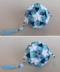 Galaxy by Uniya Filonova (irina_chisa) Tags: кусудама оригами kusudama origami