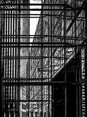 CityCage.jpg (Klaus Ressmann) Tags: klaus ressmann omd em1 fparis france ladefense spring architecture blackandwhite cityscape contemporary design flccity scaffolding klausressmann omdem1