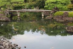 IMG_6334 Himeji Castle gardens (Kokoen) (drayy) Tags: trip travel holiday japan himeji hyogo hyougo castle himejicastle 日本 兵庫 兵庫県 姫路 城 姫路城 庭