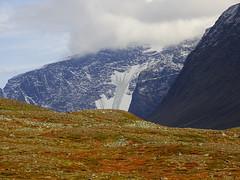 Rabots glacier (dration) Tags: kungsleden sweden lapland landscape sky clouds