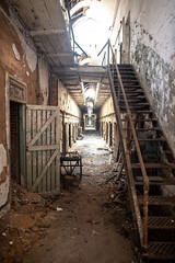 Eastern State Penitentiary (Thomas Hawk) Tags: america easternstatepenitentiary pennsylvania philadelphia philly usa unitedstates unitedstatesofamerica abandoned jail penitentiary prison stairs fav10 fav25 fav50 fav100