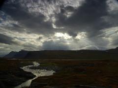Tjäktjavagge, rays (dration) Tags: kungsleden sweden lapland landscape sky clouds