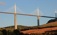 Millau Viaduct, France (M McBey) Tags: millau bridge france viaduct tallest towers