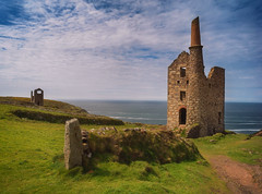 Coastal tin mine. Explored. (Tim Ravenscroft) Tags: tinmine mine botallack cornwall england landscape seascape sea architecture ruins industrial traditional historic hasselblad hasselbladx1d