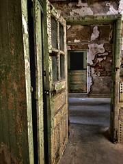 door to doom (pitysing) Tags: easternstatepenitentiary door doorway prison pennsylvania