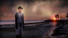 The Uncertain Path Ahead (JDS Fine Art Photography) Tags: portrait dramatic dramaticportrait emotional emotions drama cinematic sunset inspirational woman beach