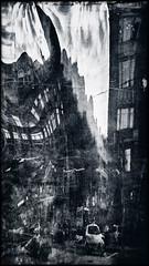 Австрийская площадь [С-Пб] / Austrian Square. [St. Petersburg] (fotor0man[arty]) Tags: санктпетербург arty monochrome eos60d sigma1770mmf284dcmacrooshsm city walk 169 reflection