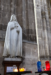 St Therese of Lisieux (Lawrence OP) Tags: saint thereseoflisieux carmelite nun doctorofthechurch steustache paris statue