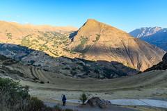 Pisac Views (zeuszain) Tags: peru sacredvalley cusco travel valley pisac ollantaytambo mountain sky shadows