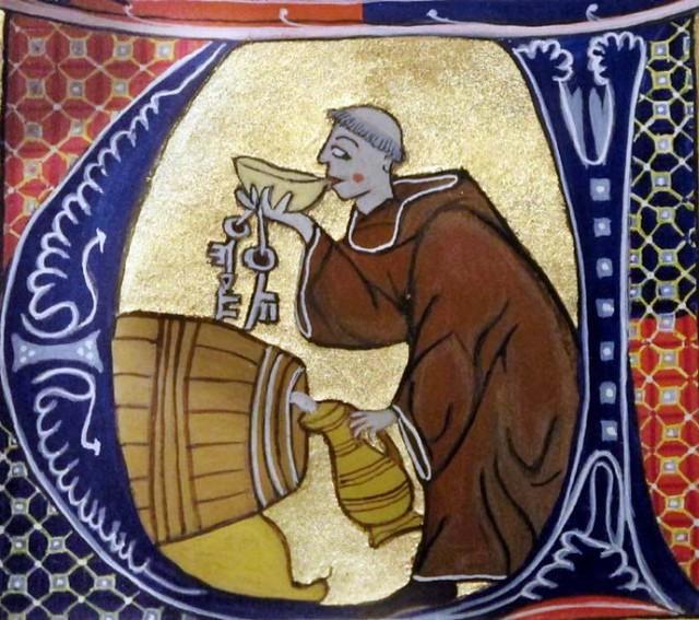 20 Монах буквица