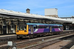 Northern Class 142 142049 (Adam Fox - Plane and Rail photography) Tags: train uk railway railroad arriva trains sheffield shf mml midland main line mainline dmu diesel multiple unit br british rail railways passenger pacer railbus