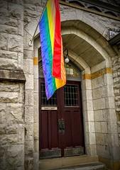 IMG_20190927_183218 (crznhwy1) Tags: pride rainbowflag church
